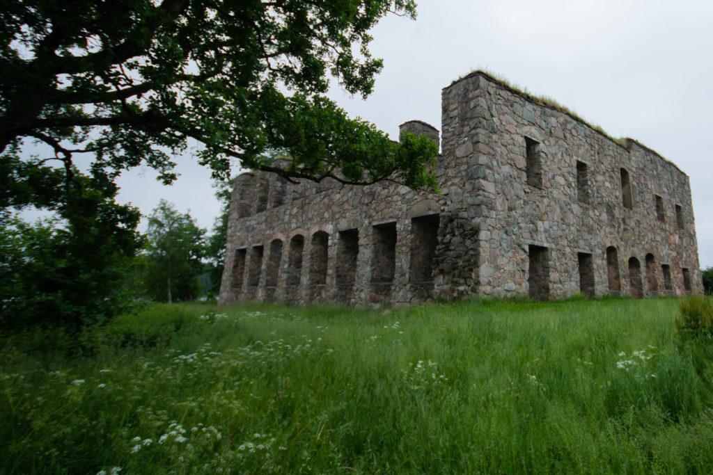 Eksjöhovgårds slottsruin