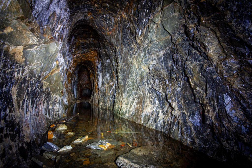Kristinastollen vid Hällefors Silvergruvor