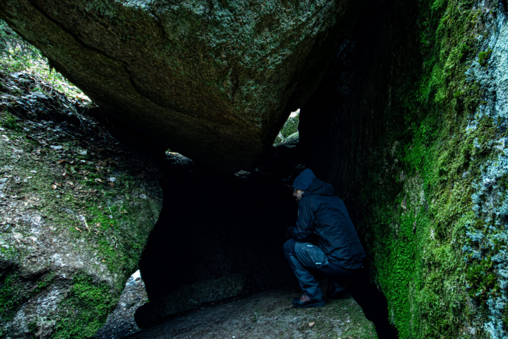 Mindre grotta vid Anglestue