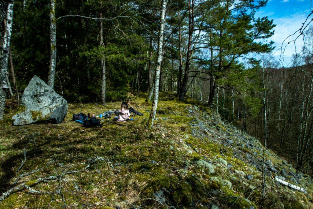 Granatgruvan i Sjönevad